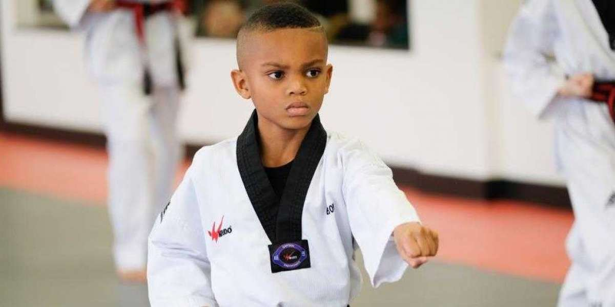 The program at Top Level Taekwondo offers physical and mental training that provides students with a fun envoirnment